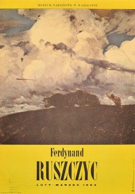 """Plakat wystawowy """"Ferdynand Ruszczyc"""