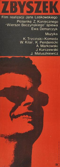 """Oryginalny polski plakat filmowy do filmu polskiego """"Zbyszek"""""""