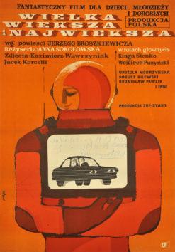 """Oryginalny polski plakat filmowy do polskiego filmu """"Wielka"""