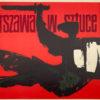 Oryginalny polski plakat wystawowy wydany z okazji wystawy Warszawa w sztuce (wystawa rzeźby