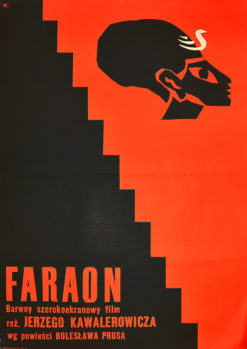 "plakat filmowy ""Faraon"" Julian Palka"