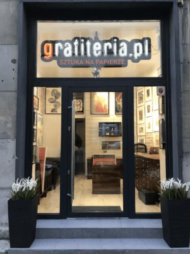 galeria grafiki i plakatu grafiteria