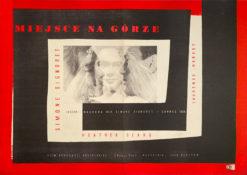 """Plakat filmowy """"Miejsce na górze"""" Andrzej Heidrich"""