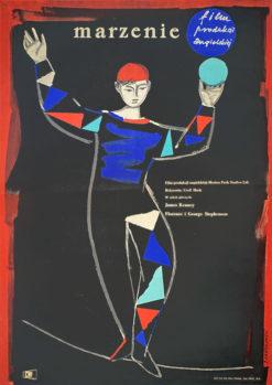 """Plakat filmowy """"Marzenie"""" Jerzy Jaworowski"""