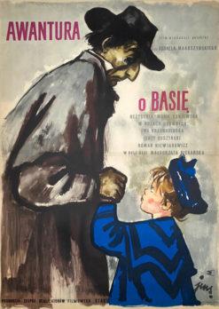 """Plakat filmowy """"Awantura o Basię"""" Jan Marcin Szancer"""