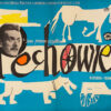 "Polish school of poster, Vintage movie poster PRL ""Pechowiec"", proj. Hanna Bodnar, 1959"