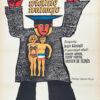 "Polish school of poster, Original vintage movie poster from PRL ""Wielkie wakacje"", Marian Stachurski, 1971"